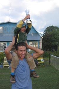 А победителем первого турнира Печорский Уимблдон-2006 стал Владислав Марков. Поздравляем!