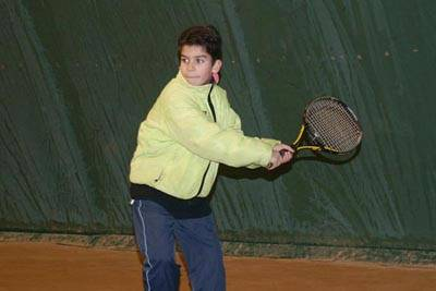 Молодая надежда российского тенниса - Паша Щая-Зубров