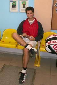 Сергей Горпинко получает удовольствие и от игры, и от пауз между играми