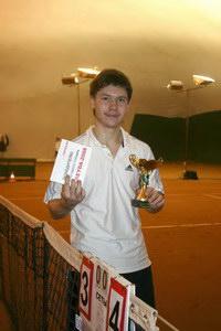 Михаил Балмашев - лучший теннисист CREYDA-2008