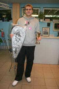 Шехин Сергей из Петрозаводска - победитель в верхнем дивизионе