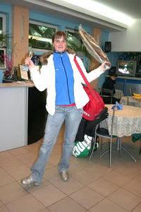 Степанова Наталья (Санкт-Петербург) защитила свой прошлогодний титул в женском разряде