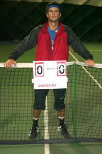 А его соперник по финалу, Сергей Горпинко, уже занял место на капитанском мостике