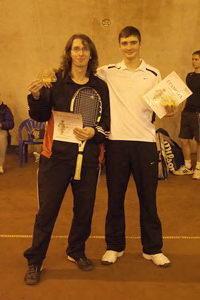 Дмитрий Метелица (на фото слева) и Борисенко Кирилл - победители в верхнем дивизионе