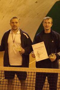 Бусов Александр (на фото слева) и Комаров Иван - победители в среднем дивизионе