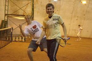 …Артем Богатов (на фото справа) и Максим Земсков и вовсе полны боевого настроя