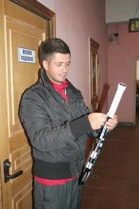 Сергей «Вердаско» Горпинко знает – в игре существенна любая мелочь. Обмотку нужно заменить