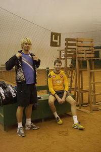 Пара из Петрозаводска Игорь Иванов (на фото слева) и Яков Чепель