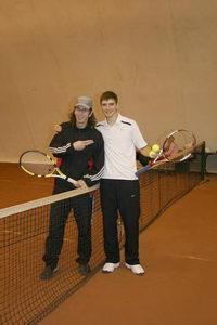 Дмитрий Метелица (на фото слева): «В нашей паре ведущий – Кирилл Борисенко»