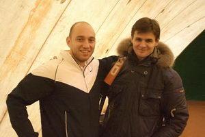 Антон Берлин и Алексей Горяинов