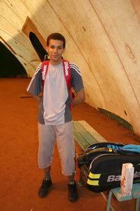 Муанга Даниэль впервые играл в нашем турнире