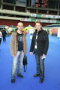 Наши люди - Михаил Шилов (слева) и Дмитрий Богданов