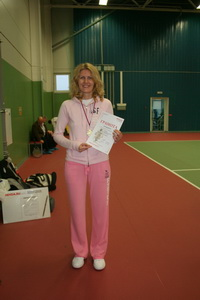 Победитель в женском разряде Агафонова Алина