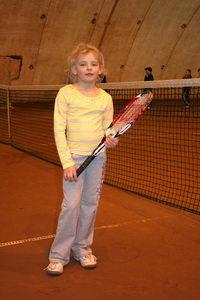 Вика Рабенау - хотела, конечно, победить, но и 3 место тоже ничего (7-9 лет)