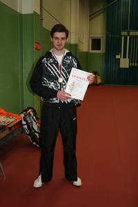 Алексей Горяинов - победитель во второй сетке нижнего дивизиона