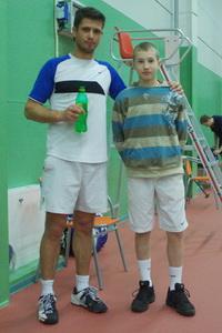 Сергей Горпинко (Л) играл пару с юным Даниилом Томиловым