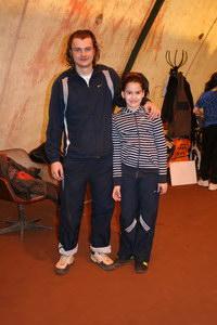 Олег Киселев со своей воспитанницей Линдой Антипиной