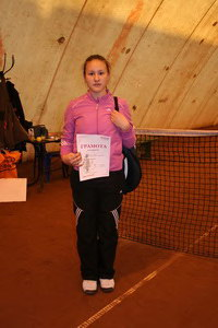 Аня Пак - третье место