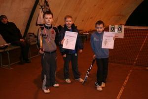 Слева направо: победитель Шалаев Никита, Цибин Ярослав (3 место) и финалист Петров Никита