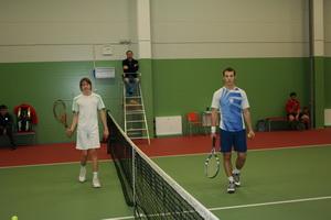 Киселев Евгений (Л) и Подберезкин Андрей (П)