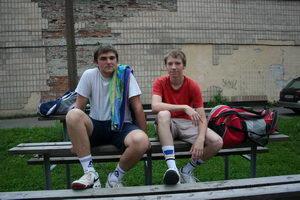 ИГорь Овчинников (Л) и Гетц Александр