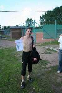Иванов Вадим - победитель турнира Creyda 2-9 августа в нижнем дивизионе. топлесс