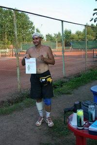 Васильев Андрей - победитель турнира Creyda 9 августа в нижнем дивизионе. Не только топлесс, но еще и с сигаретой