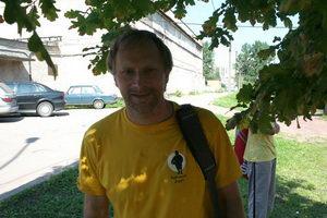 Алексей Атаманов принес на футболке новое слово - Гаримусу