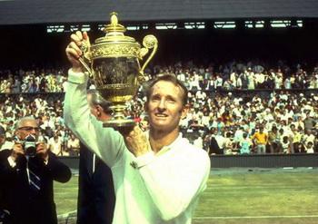 Род Лэвер завоевал в 1969 году Уимблдонский титул. Равно как и три остальных титула Большого Шлема