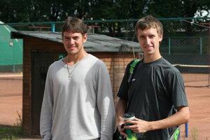 Павел Платонов (П) и Максим Раковский