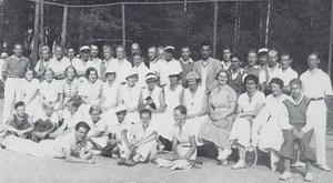Терийокское теннисное общество 1930г