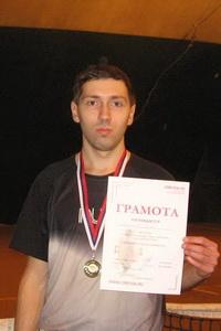 Манаенков Сергей стал сильнейшим в нижнем дивизионе