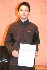 Кирилл Ковалев - победитель в юниорском разряде