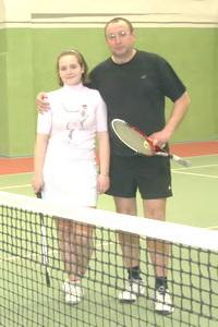 Евгений Чапало с дочерью Марией