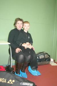 супруга и сын
