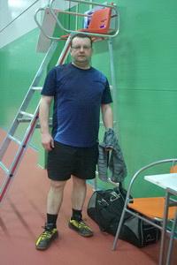 Юрий Маляренко набирает форму после травмы