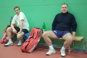 Александр Агалов (на фото слева) и Евгений Смирнов