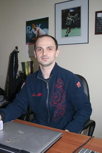 Михаил Шилов - теннисист и директор клуба