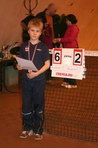 Тимофей Ахламенок - победитель в юниорском разряде