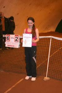 Вероника Мельничук - финалист турнира