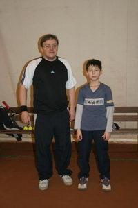 Сергей Кожевников (на фото слева) и Родион Старченко
