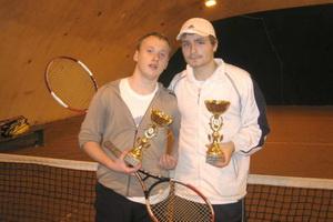 Олег Сычев (на фото слева) и Владислав Плотников - лучшие в парном разряде