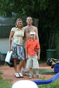 Владимир Водаков с семьей прекрасно провели выходной