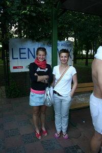 Юная Овчаренко Полина (Л) из Петрозаводска вместе с мамой активно путешествуют по турнирам России и зарубежья