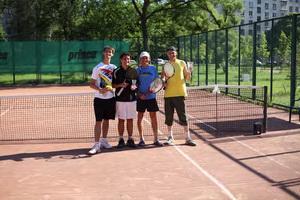 Слева направо: Тимур Салахетдинов, Люка Раньо (финалист), Андрей Астахов и победитель Александр Солдатов