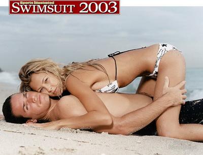 Томми Хаас и Сэнди Мейер Вельден пляжные костюмы рекламируют