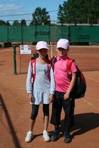 Финалист среднего разряда Мария Чеботарева (Л) и победитель Попова Дарья только на тай-брейке решили судьбу напряженного и интересного финального матча