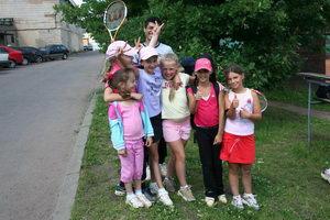 Веселье теннисного детства