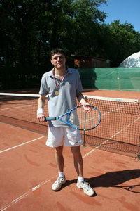 Андрей Голуб - победитель турнира в среднем дивизионе