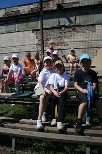 Участники турнира неплохо смотрелись в качестве зрителей